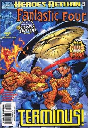 Fantastic Four (1998-2011)#4B