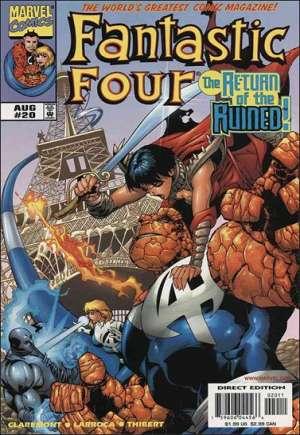 Fantastic Four (1998-2011)#20B