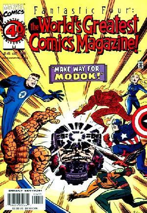Fantastic Four: The World's Greatest Comic Magazine#4