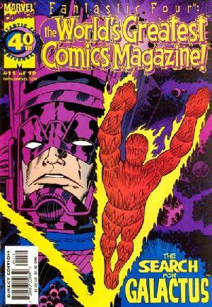Fantastic Four: The World's Greatest Comic Magazine#11