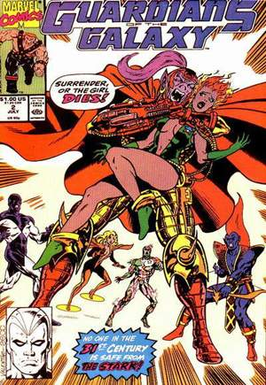 Guardians of the Galaxy (1990-1995) #2B