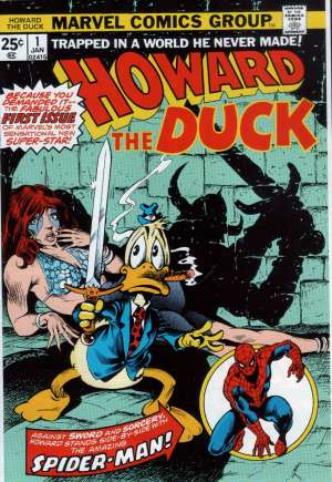 Howard the Duck (1976-1986) #1A