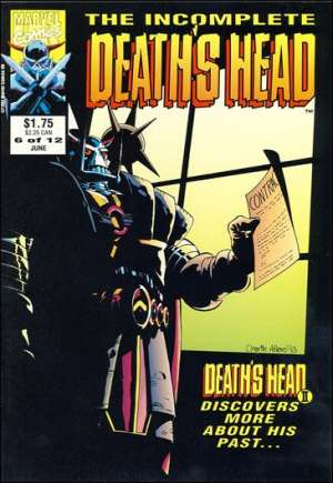 Incomplete Death's Head (1993)#6