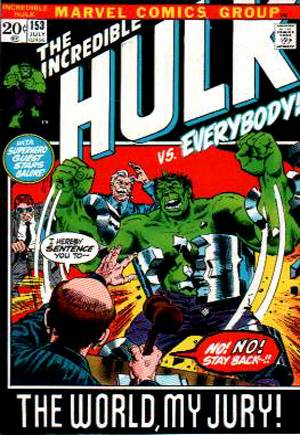 Incredible Hulk (1968-1999) #153