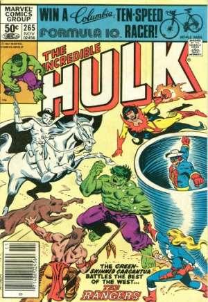 Incredible Hulk (1968-1999)#265A