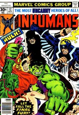 Inhumans (1975-1977)#12A
