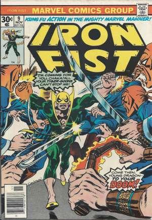 Iron Fist (1975-1977)#9