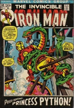 Iron Man (1968-1996)#50A