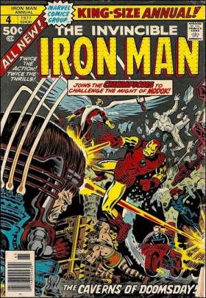 Iron Man (1968-1996)#Annual 4