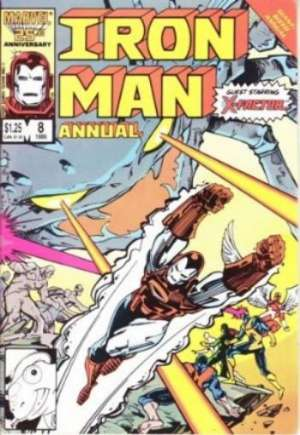 Iron Man (1968-1996) #Annual 8B