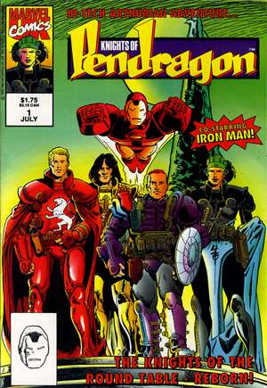 Knights of Pendragon (1992-1993)#1
