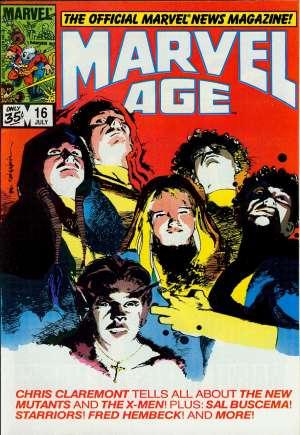 Marvel Age (1983-1994)#16