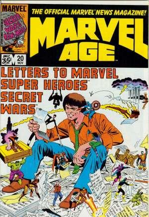 Marvel Age (1983-1994)#20