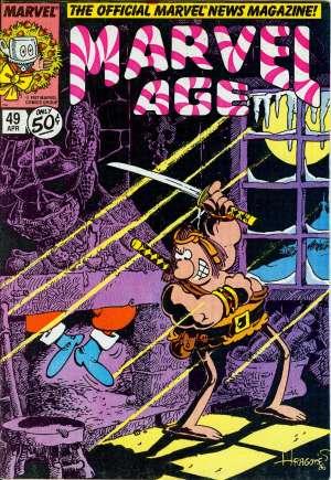 Marvel Age (1983-1994)#49