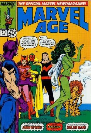 Marvel Age (1983-1994)#70