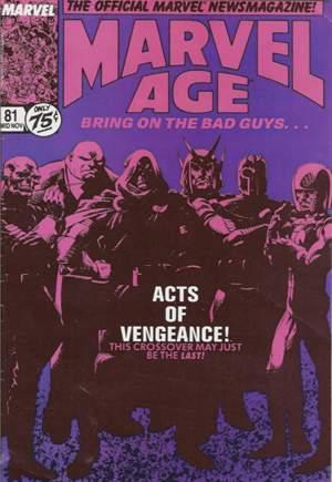 Marvel Age (1983-1994)#81