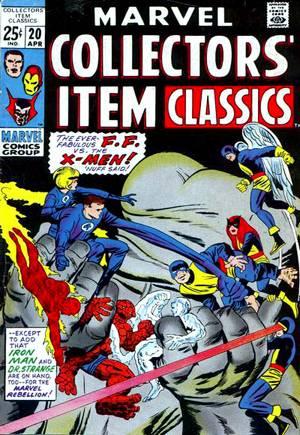 Marvel Collectors Item Classics (1966-1969)#20