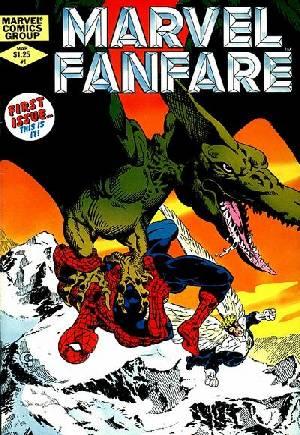 Marvel Fanfare (1982-1992)#1