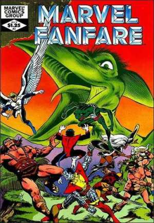 Marvel Fanfare (1982-1992)#3
