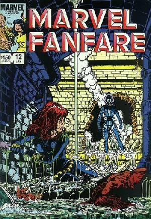Marvel Fanfare (1982-1992)#12