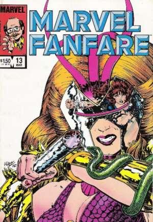 Marvel Fanfare (1982-1992)#13