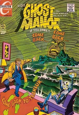 Ghost Manor (1971-1984)#4