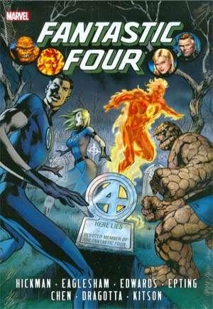 Fantastic Four By Jonathan Hickman Omnibus (2013-2014)#HC Vol 1