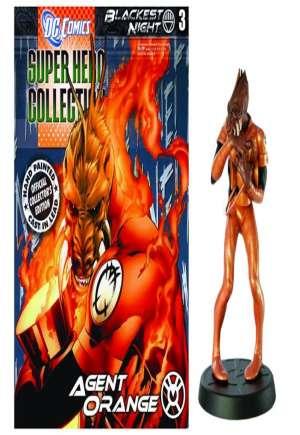 Agent Orange (Larfleeze) #03 Blackest Night Lead Figurine/Magazine (2011)#1
