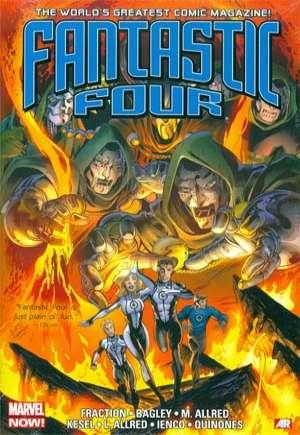 Fantastic Four By Matt Fraction Omnibus (2015)#HC