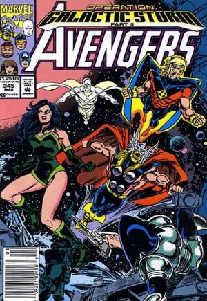 Avengers (1963-1996)#345A