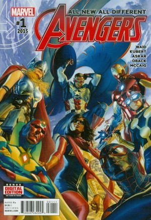 All-New, All-Different Avengers (2016-Present) #1A