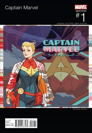 Captain Marvel (2016-2017)#1B