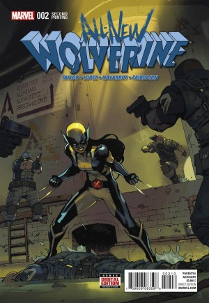 All-New Wolverine (2016-2018) #2C