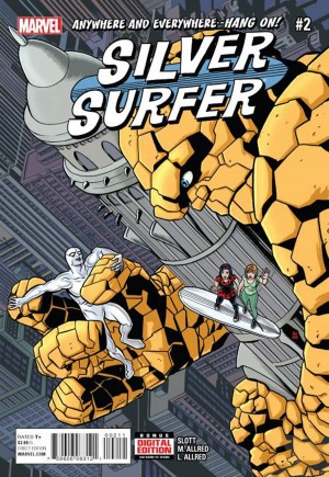 Silver Surfer (2016-Present)#2A