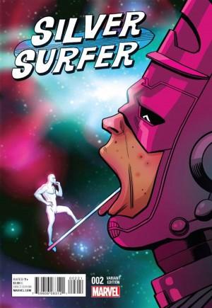 Silver Surfer (2016-Present)#2B