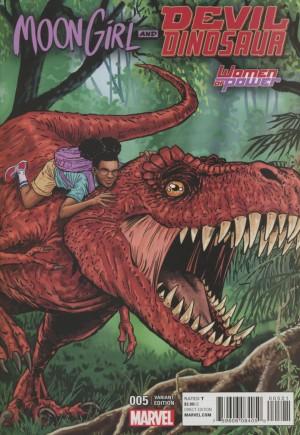 Moon Girl And Devil Dinosaur (2016-Present)#5B