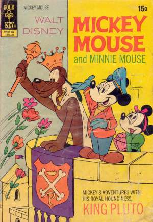 Mickey Mouse (1941-1990) #134