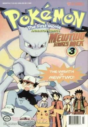Pokemon the First Movie: Mewtwo Strikes Back (1998)#3