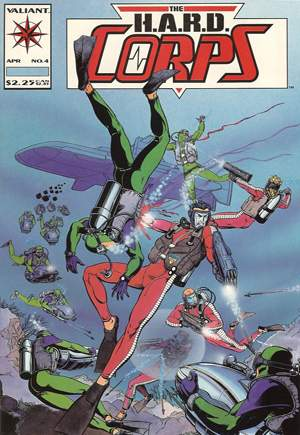 H.A.R.D. Corps (1992-1995)#4