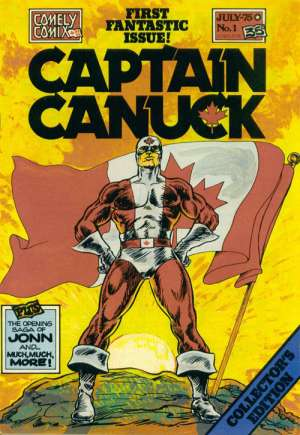 Captain Canuck (1975-1981, 2004) #1