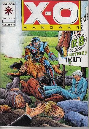 X-O Manowar (1992-1996)#17