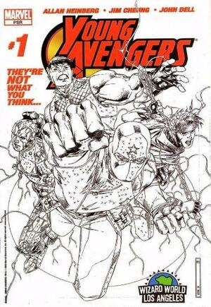 Young Avengers (2005-2006) #1C