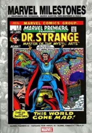 Marvel Milestones: Dr. Strange, Silver Surfer, Sub-Mariner & Hulk (2005)#One-Shot