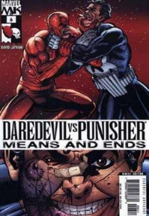 Daredevil vs. Punisher: Means and Ends #6