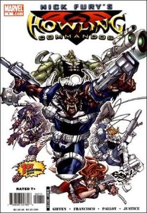 Nick Fury's Howling Commandos (2005-2006)#1A
