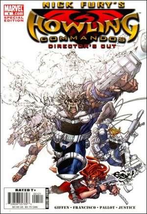 Nick Fury's Howling Commandos (2005-2006)#1B