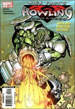 Nick Fury's Howling Commandos (2005-2006)#2