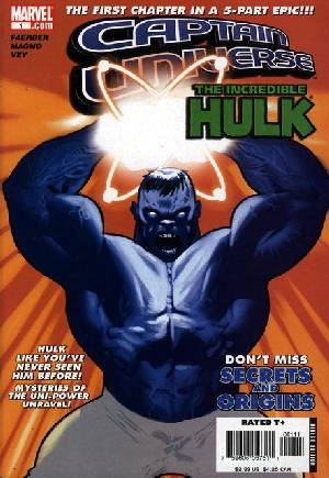 Captain Universe/Hulk#1