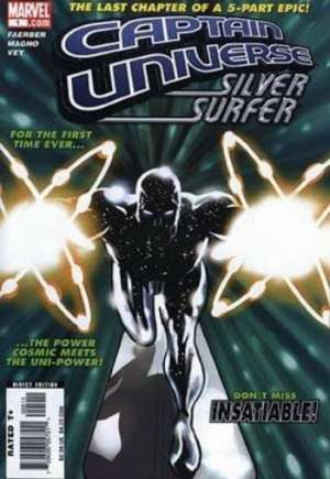Captain Universe/Silver Surfer #1