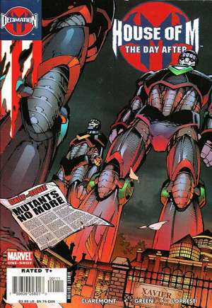 Decimation: House Of M - The Day After#One-Shot